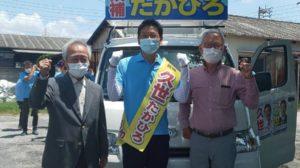 6月3日(木)半田市長選挙(5日目)午前中の活動|半田市長  久世孝宏(たかひろ)|2030年を見つめ、声を聴く