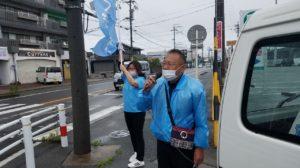 6月4日(金)半田市長選挙(6日目)午前中の活動|半田市長  久世孝宏(たかひろ)|2030年を見つめ、声を聴く